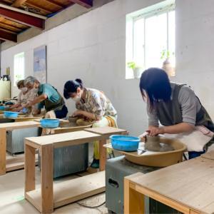 本日の陶芸教室 Vol.1058,1059,1060