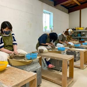 本日の陶芸教室 Vol.1080,1081