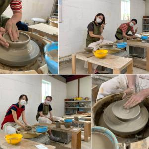 本日の陶芸教室 Vol.1082,1083