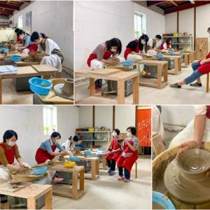 本日の陶芸教室 Vol.1127,1128,1129