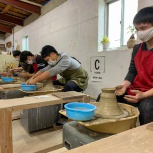 本日の陶芸教室 Vol.1132 キャノン福島支部