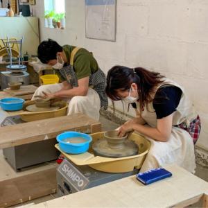本日の陶芸教室 Vol.1158