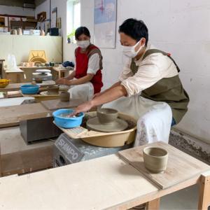 本日の陶芸教室 Vol.1309