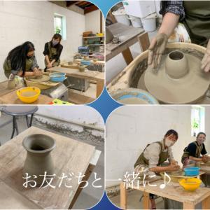 本日の陶芸教室 Vol.1319,1320