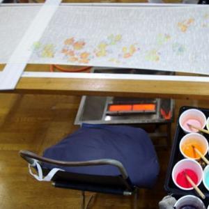 布に描く絵の具