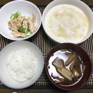 鶏肉と小松菜の胡麻和え