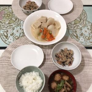 カブと高野豆腐の煮物