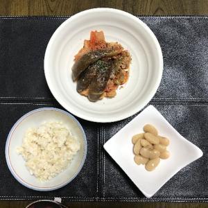 豚小間と野菜のトマト煮込み