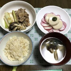 豚小間生姜焼き