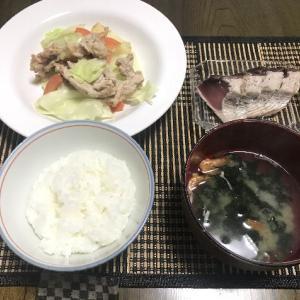豚肉と雪の下キャベツの生姜風味炒め