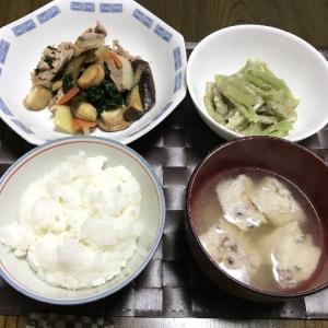 豚肉と野菜のウスターソース炒め