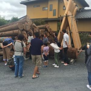 今年も材木屋見学を行います!