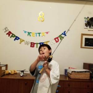 8歳のお誕生日♪