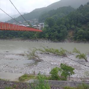 佐久間ダムの放流はいつまで続くのかな