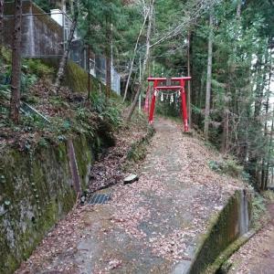 水窪 神社巡りジョギング