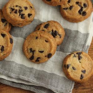チョコチップのアイスボックスクッキー