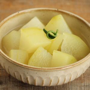 【簡単副菜】じゅわっと味しみ冬瓜の白だし煮