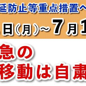 新型コロナウイルス感染症に関する枚方市の対応状況について(6/18現在)