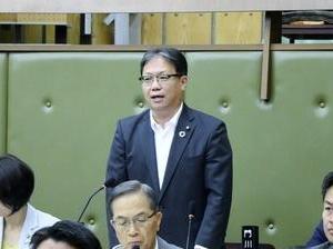6月定例月議会初日 ~会計年度任用職員制度について質疑~
