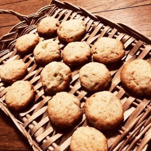 幼稚園お芋掘りのサツマイモでクッキーを手作り☆