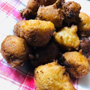 手作り☆豆腐バナナドーナツ