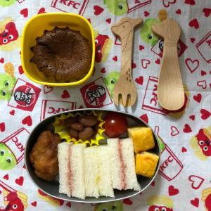 0126.幼稚園遠足弁当☆チーズケーキ