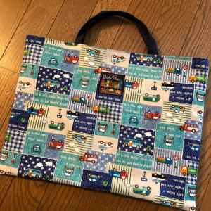 次男君の小学校用の音楽バッグを作りました☆