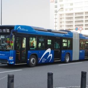 横浜市交通局 日野 ブルーリボン ハイブリッド 連接バス(その1)