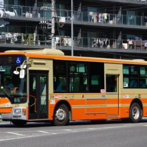 江ノ電バス 三菱ふそう エアロスター ノンステップ(その2)