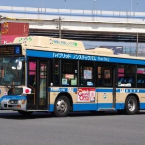 横浜市交通局 日野 ブルーリボンシティ ハイブリッド ノンステップバス(その8)