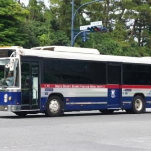 京成トランジットバス 日野 ブルーリボンⅡ ワンステップ 東京特殊車体改造