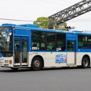 川崎市交通局 三菱ふそう エアロスター ノンステップ(その1)