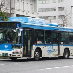 川崎市交通局 日野 ブルーリボン ハイブリッド(その1)