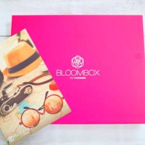 サンプルサイズのビューティープロダクトが毎月試せる♪BLOOMBOXが届きました!