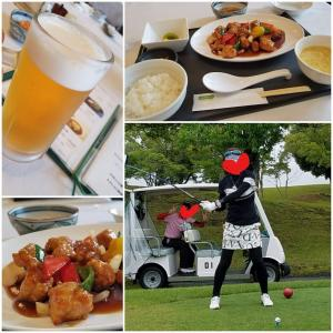 オリムピックゴルフ&打上♡ 金曜日のご飯