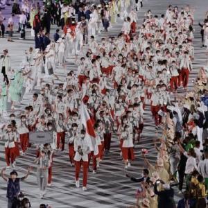 東京オリンピック開会式 私の中では及第点