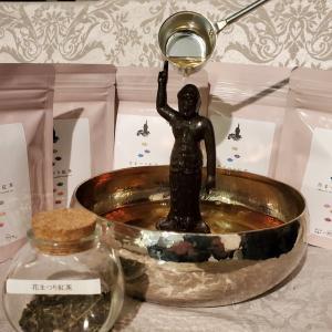 花まつりを紅茶で祝う