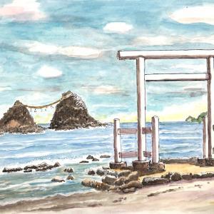 福岡糸島の夫婦岩