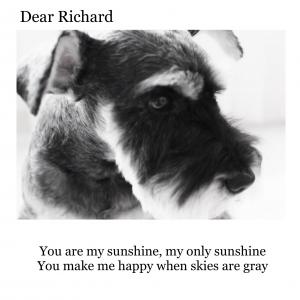 You are my sunshine ・・・