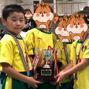 幼稚園のサッカー大会でした