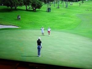 さすが「デサント」女子プロゴルフ