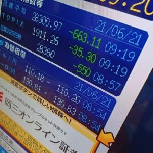 〈夏至〉だって 株価下落で 血が昇り