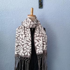 総刺繍ストールご紹介&メキシコ国内直販します。