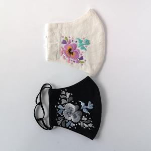 オアハカ刺繍マスクカバー女性サイズ!ブログにて販売です。