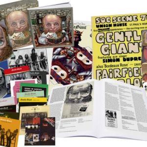 ジェントル・ジャイアントの豪華BOX(29CD+ブルーレイ)S.ウィルソンによる1stアルバムの5.1chも