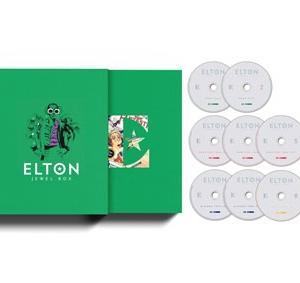 エルトン・ジョンの豪華ボックスセット『ジュエル・ボックス』CD8枚組が発売、LPも