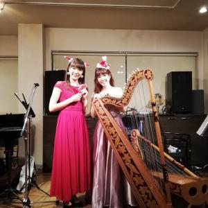 12月15日オカリナ&アルパクリスマスコンサート