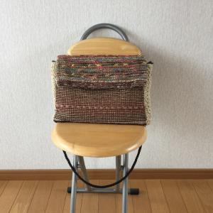 スマック織りのバッグ  完成
