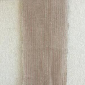 麻の手織りストール  完成
