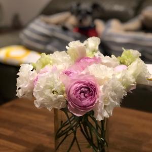 お花をたくさん頂きました